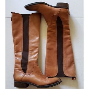 Sam Edelman Brown Leather Boots